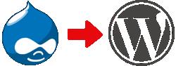 Flytta från Drupal till WordPress