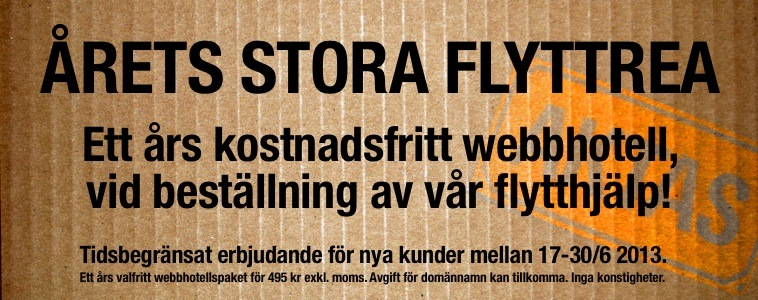 Flyttrea hos FS Data