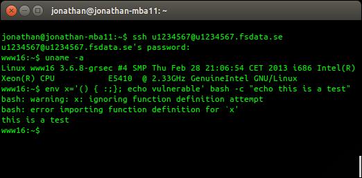 FS Data Shellshock patch