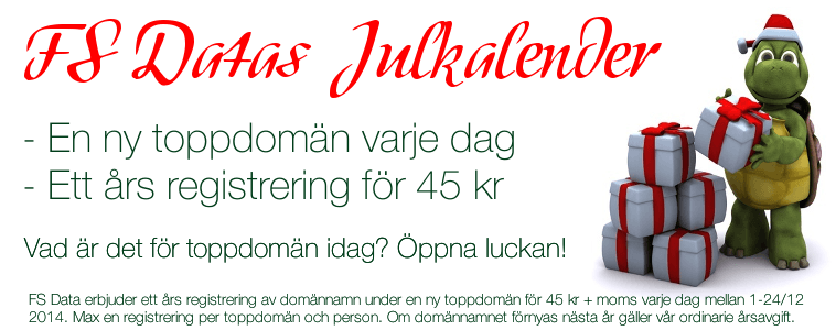 FS Datas Julkalender